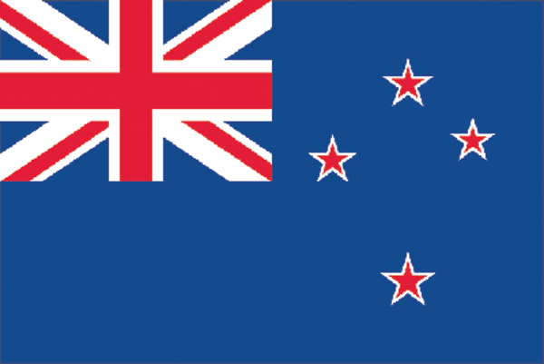Rumbling Pride New Zealand Flag