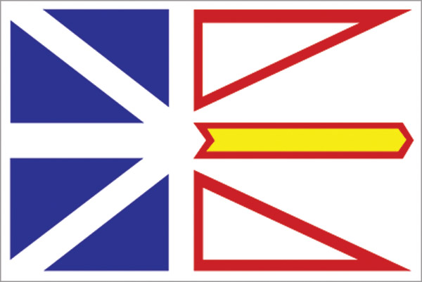 Rumbling Pride Newfoundland Flag