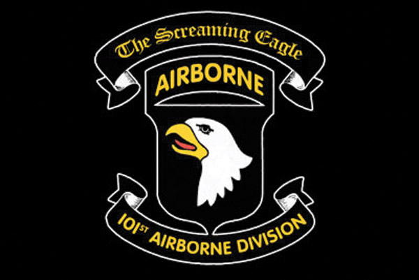 Rumbling Pride Screaming Eagle Airborn Flag