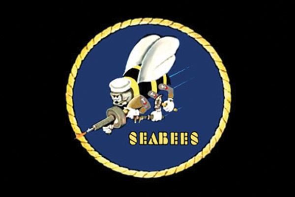 Rumbling Pride Seabees Flag