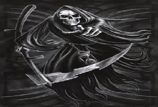 Rumbling Pride Reaper Flag