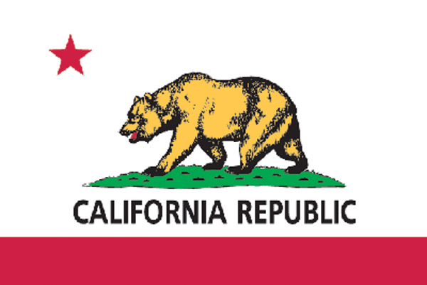Rumbling Pride California Flag