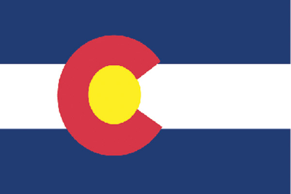 Rumbling Pride Colorado Flag