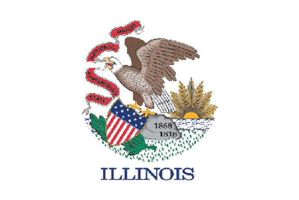 Rumbling Pride Illinois Flag