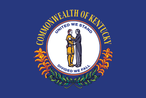 Rumbling Pride Kentucky Flag