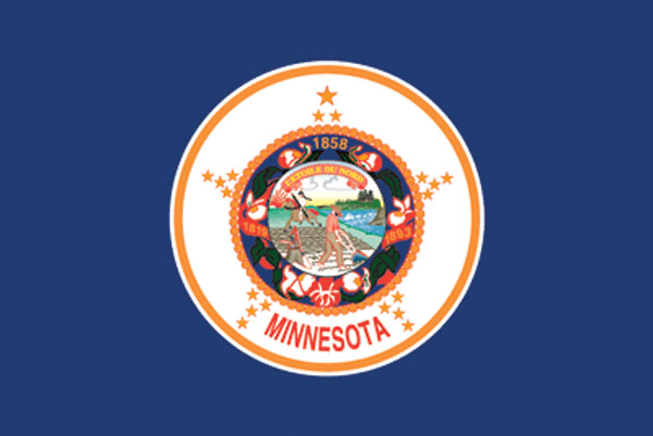 Rumbling Pride Minnesota Flag