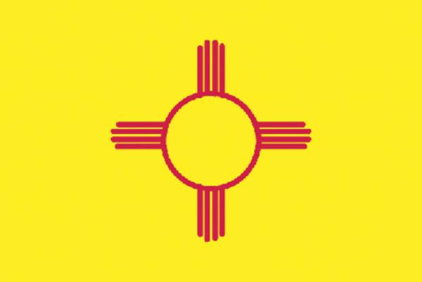 Rumbling Pride New Mexico Flag