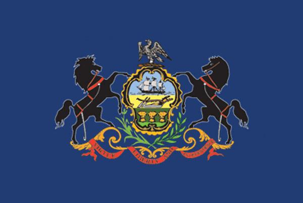 Rumbling Pride Pennsylvania Flag
