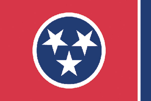 Rumbling Pride Tennessee Flag