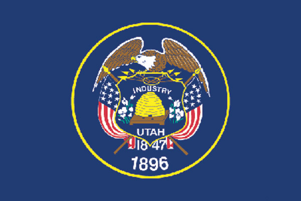Rumbling Pride Utah Flag