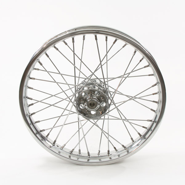 Replica 40 Spoke Star Hub Chrome Rear Wheel, 18 x 4.25