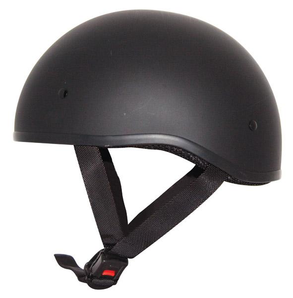 Zox Nano Old School Matte Black Half Helmet 446 398 J P Cycles