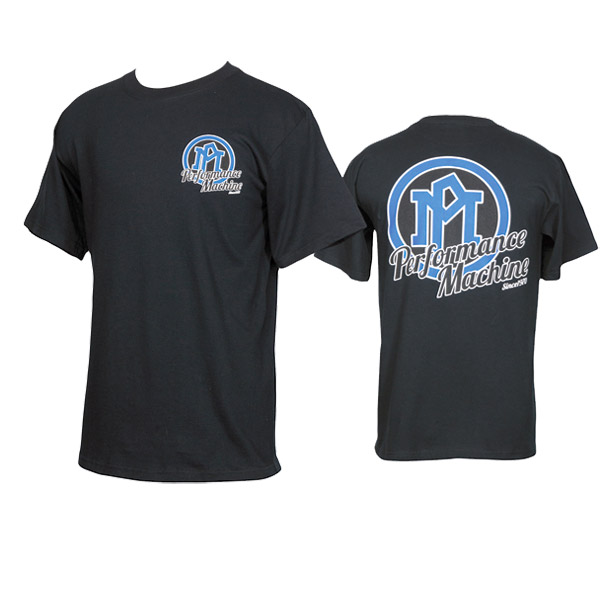 Performance Machine Men's Classic II Logo Black T-Shirt