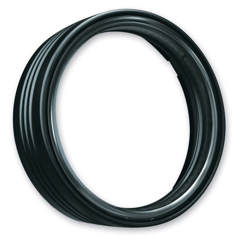 Kuryakyn Gloss Black LED Halo Trim Ring