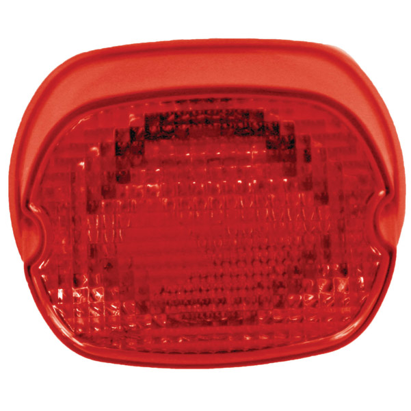 Custom Dynamics Genesis II Integrated LED Taillight with Red Lens