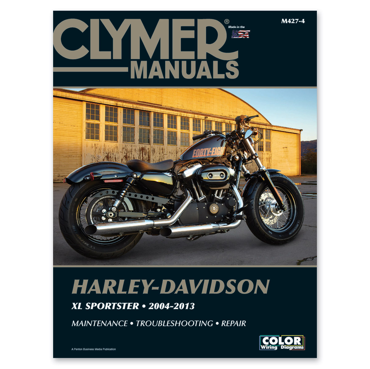 clymer sportster repair manual | 446-613 | j&p cycles