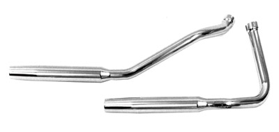 Paughco 1-3/4″ 38″ Long Over-The-Transmission Tapered Exhaust System