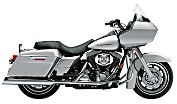 Cobra 4″ Slip-On Mufflers Upper-Cut Style for Touring Models