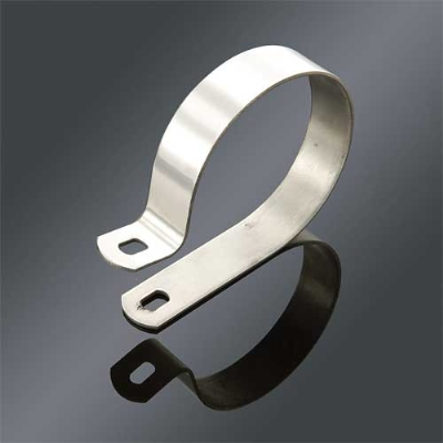 J&P Cycles® 3-1/4″ Stainless Steel Muffler Clamp