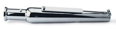 V-Twin Manufacturing Chrome Universal Slip-On Mufflers