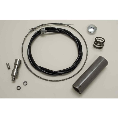 V-Twin Manufacturing Handlebar Throttle Spiral and Cable Kit