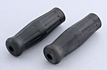 V-Twin Manufacturing Vintage Style Black Grips
