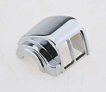 J&P Cycles Chrome Top Left Switch Housing
