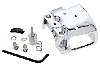J&P Cycles Chrome Right Lower Switch Housing