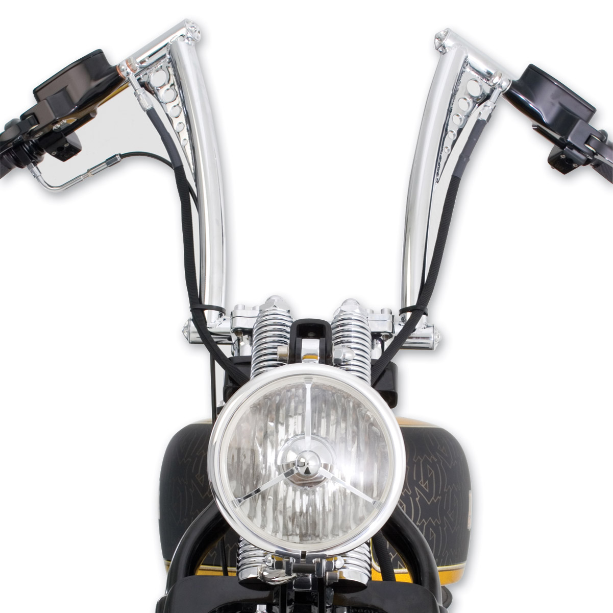 Roland Sands Design Chrome Vintage Handlebars