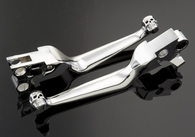 J&P Cycles® Skull Lever Set
