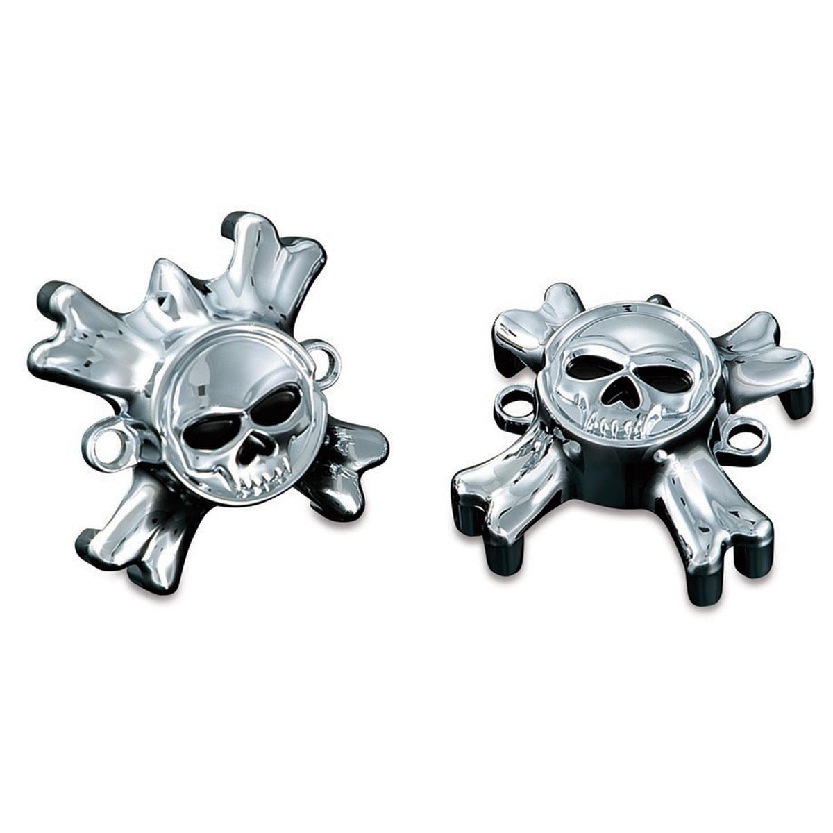 Kuryakyn Zombie Grip Emblems