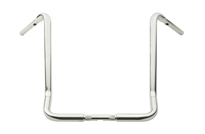 J&P Cycles® 19″ Chrome Ape Hanger Handlebars for FLHT/C/U/X