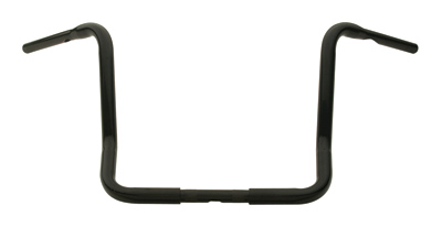 J&P Cycles® 14″ Black Ape Hanger Handlebars for FLHT/C/U/X