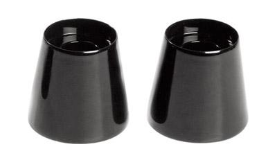 Novello 1-1/2″ Smooth Black Custom Riser Extensions