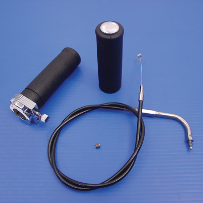 Single Cable Throttle Kit with Cable