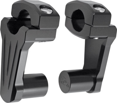 Rox Speed FX 2″ Black Pivoting Handlebar Risers