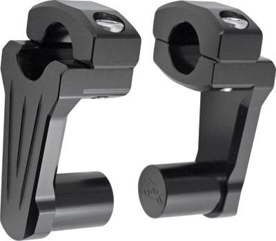 Rox Speed FX 2″ Black Pivoting Handlebar Risers