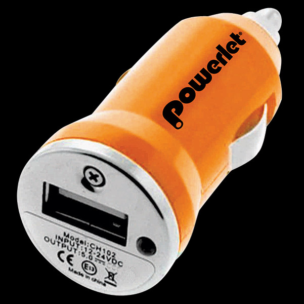 Powerlet Cigarette Socket Adapter to USB Plug