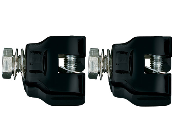 Glossy Black Short Magnum Peg Mounts
