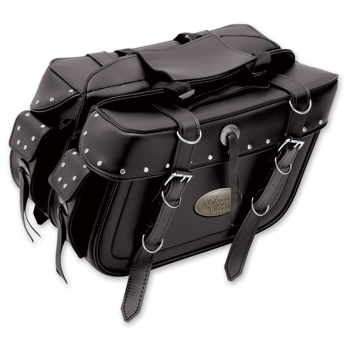 All American Rider Detachable Studded Saddlebags