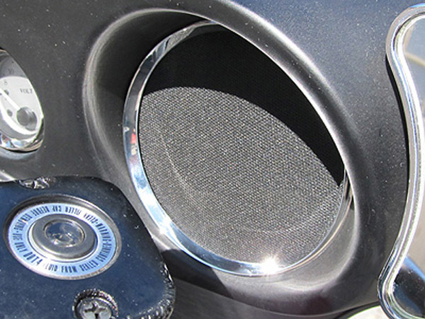 Headwinds Chrome Speaker Bezel
