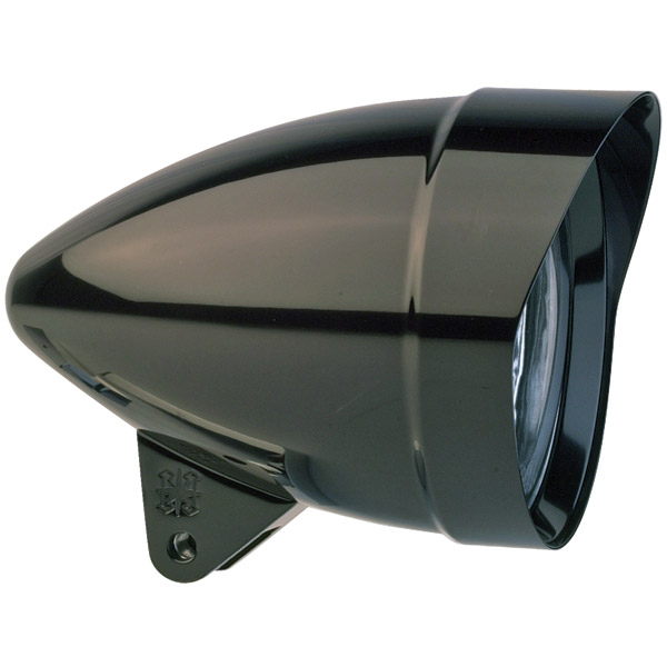 Headwinds Black Metal Mariah Rocket Headlight