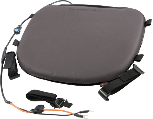 Heated Touring Leather Top Pad