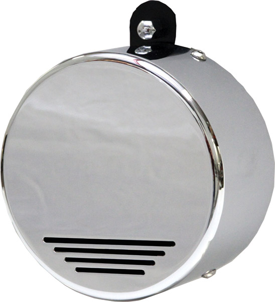 Custom Dynamics Mini Beast Air Horn Round Chrome Cover