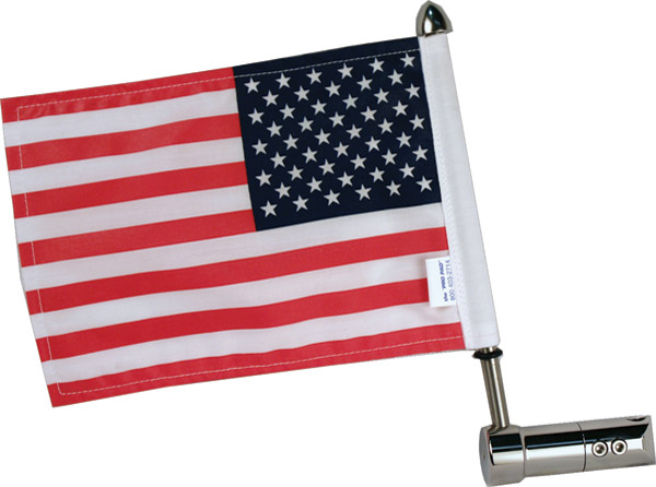 Flag Mount For Harley-Davidson Air Wing Rack