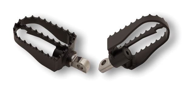 Burly Brand MX Style pegs for Sportster and Dyna Models