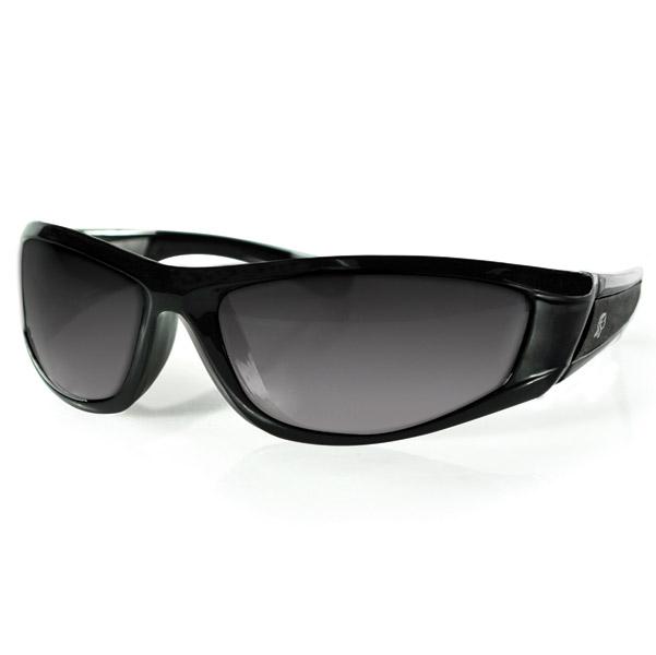 ZAN headgear Iowa Black Sunglasses with Smoke Lens