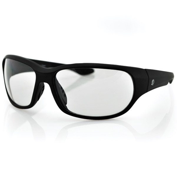 ZAN headgear New Jersey Black Sunglasses with Clear Lens