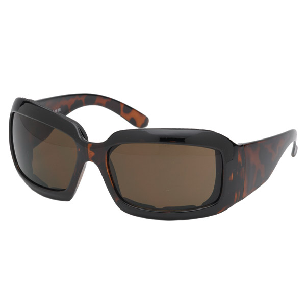 Chap'el Performance Padded Brown Sunglasses with Brown Lens