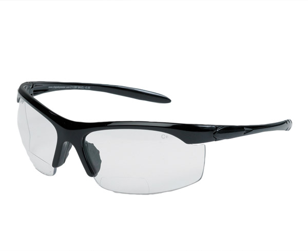 Chap'el C112BF Clear Lens Bi-Focal Sunglasses